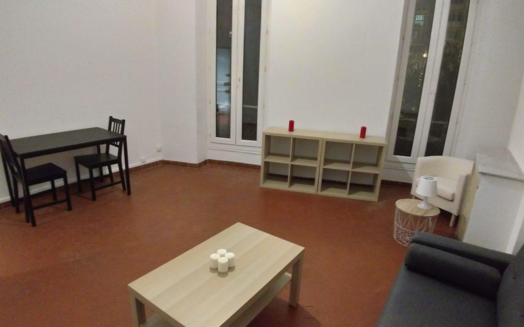 Location appartement T2 meublé Marseille