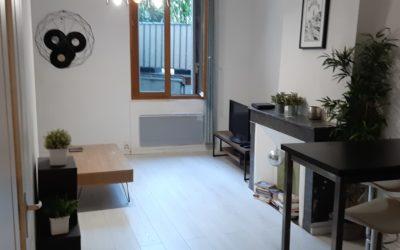 Location appartement T1 meublé centre-Aixois
